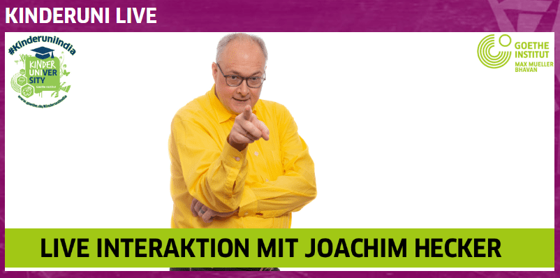 Live Interaktion mit Joachim Hecker